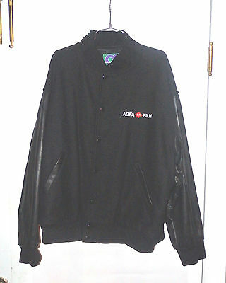 Corporate Promotions Agfa Film   Professional Products Wool Mens Jacket X-Large