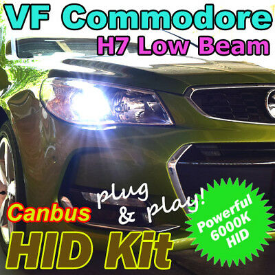 Holden VF Commodore Low Beam CANBUS H7 6000K Xenon HID Conversion Kit SS SSV SV6