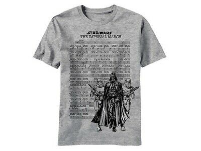 Star Wars The Imperial March Music Sheet Kids T Shirt
