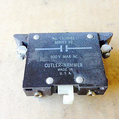 C320KB1 Cutler Hammer Auxiliary Contact