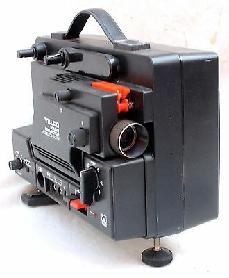 Yelco Ds-607M Super 8 8Mm Sound Cine Film Movie Projector (W)