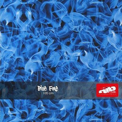Blue Fire Hydrographics Film - Check Shipping Details