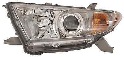 New Toyota Highlander 2011 2012 2013 left driver headlight head light