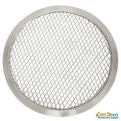 "NEW 12"" Seamless-Rim Aluminum Pizza Screen - FREE SHIPPING!!!"