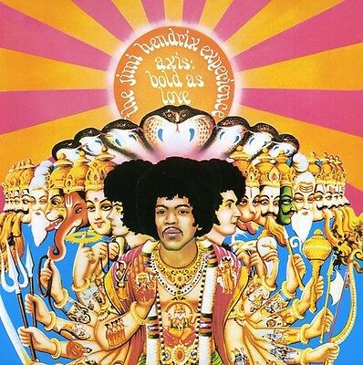 Axis: Bold As Love-Remastered - Jimi Experience Hendrix (2013, CD NUOVO)