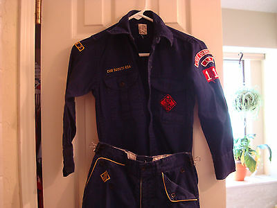 Cub Scout Uniform and Accessories   Shirt-12   Pants waist-24  from Louisiana