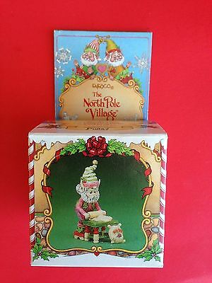 Enesco 1986 The North Pole Village Pudgy