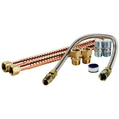 Camco 10183 Copper Gas Water Heater Connection Kit