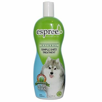 Espree Animal Products Simple Shed Treatment Conditioner for Dogs - 20 Oz