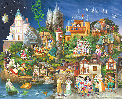 Fairy Tales 1500 Piece Jigsaw Puzzle by SunsOut