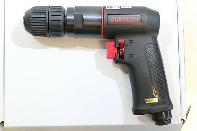 "New Suntech Reversible Variable Speed 3/8"" Pneumatic Air Drill 2,000 RPM"