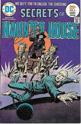 Secrets of Haunted House Comic Book #2, DC Comics 1975 VERY FINE-