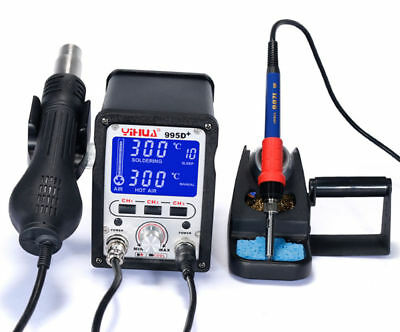 YIHUA 995D+Hot Air Rework Soldering Station For Motherboard Repair Tools 110V Y