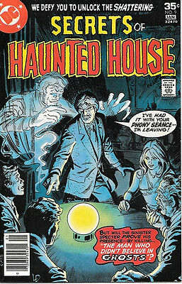 Secrets of Haunted House Comic Book #9, DC Comics 1978 VERY FINE-