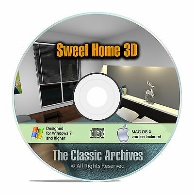 Sweet Home 3D Interior Design House Architect Software, Kitchen Bathroom CAD F15