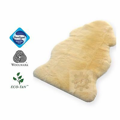 90CM and 110CM MEDICAL Sheepskin Rug Cozy Mate Australian EcoTan Sanitized