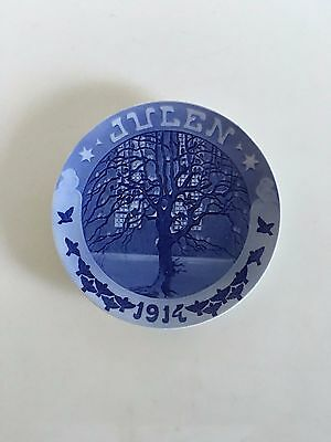 Royal Copenhagen Christmas Plate 1914