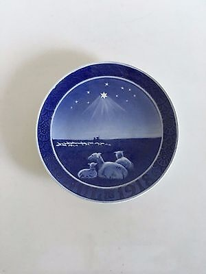 Royal Copenhagen Christmas Plate 1918