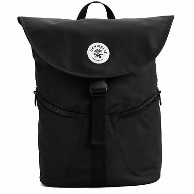 "NEW Crumpler Great Thaw 15"" Laptop Backpack - Black"