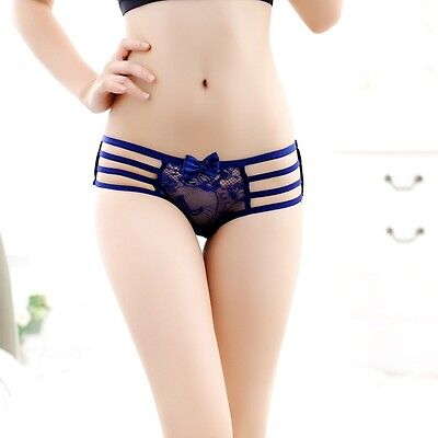 Hot Sexy Lovely Women's Lace Panties Strap Thongs G-string Lingerie Underwear