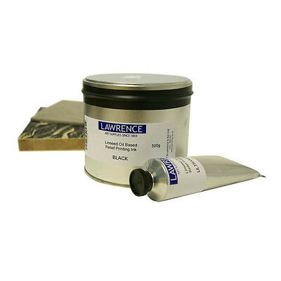 Lawrence Original Linseed Oil Based Relief Ink - Choose Colour / Size