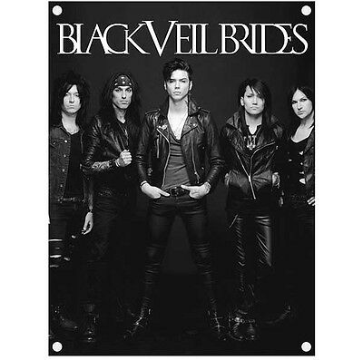 Black Veil Brides Photo Poster Flag Official Textile Fabric Wall Banner New