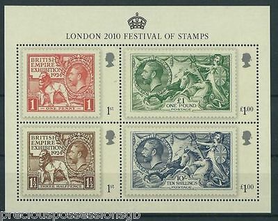 Gb Mnh Stamp Sheet 2010 London Seahorses Sg Ms3072 10% Off Any 5+