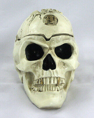 Large Skull Smoking Ashtray with Scalp Cigarette Tobacco Best Gift Home Decor
