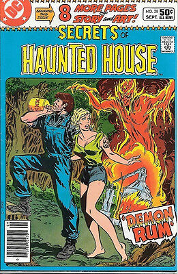 Secrets of Haunted House Comic Book #28, DC Comics 1980 FINE