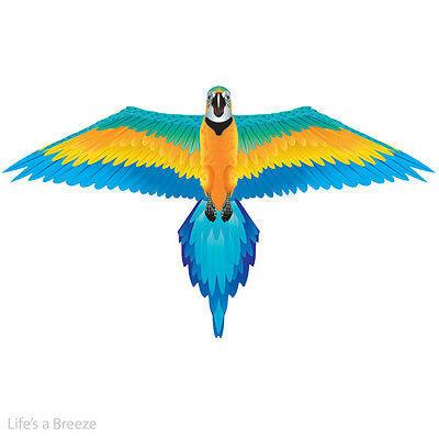 Rainforest Macaw. Windsock Or  Kite.Flown From A Telescopic Flag Pole. Line Rig