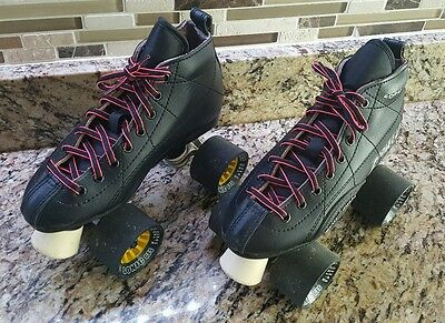 Roller Skates Black Sonic GTS X-Tra Speed Scuff Guard Form Fit- Size Youth 1