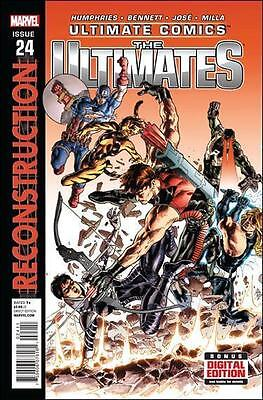 Ultimate Comics The Ultimates #24 Marvel Comics First Print