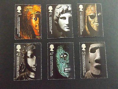 GB MNH STAMP SET 2003  The British Museum  SG 2404-2409 UMM