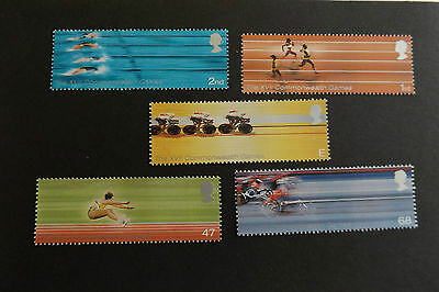 GB MNH STAMP SET 2002 Commonwealth Games SG 2299-2303 UMM