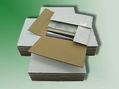 """50 - 45 RPM Record Album Mailer Boxes & 100 - 7"""" x 7"""" Filler Pads - SHIPS FREE!"""