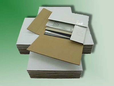 50 Variable Depth 45 RPM Record Mailer Shipping Boxes - SHIPS FREE!!!