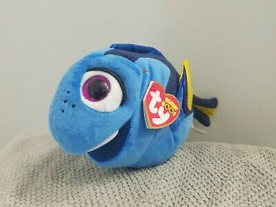 13b8ff5814f Finding Dory Beanie Boo - with sparkle eyes -