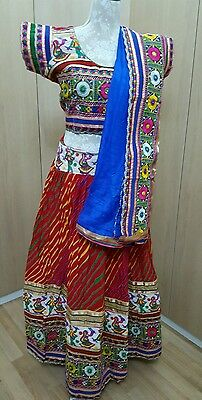 Indian traditional navratri (garba )special Lengha choli with ready blouse.