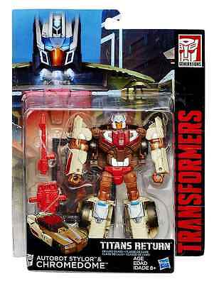 Transformers Titans Return Deluxe Class Autobot Stylor & Chromedome