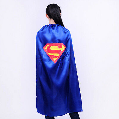Funny Single Strap Superhero Cape Mask Unisex Adult Fancy Dress Party Costume