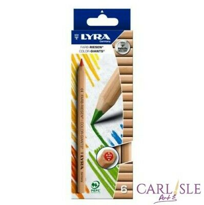 Lyra Color Giants Pencils, 6 Pack