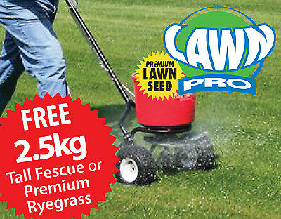 Lawn Pro EarthWay Broadcast Seed / Fertilizer Spreader Trade Quality FREE SEED