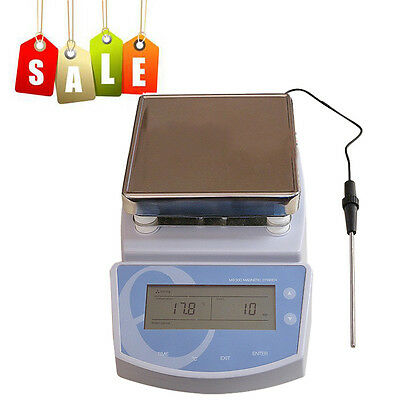 MS300 Digital Hot Plate Magnetic Stirrer Heating Mixer max Chemical Laboratory