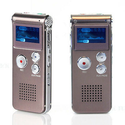 Rechargeable 16GB LCD USB Digital Audio Voice Recorder Dictaphone MP3 Player Hot