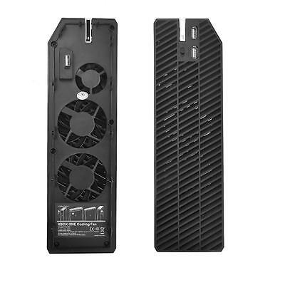 New For Microsoft Xbox One Intercooler Cooling Cooler Fan Exhauster Dual USB