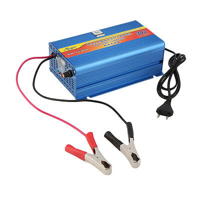 12V 30A Car Battery Charger Motorcycle Battery Charger Lead Acid Charger EU FG