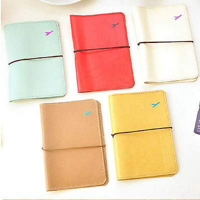Passport Cover Holder Wallet Case Organizer Plastic Protector Travel Accessories