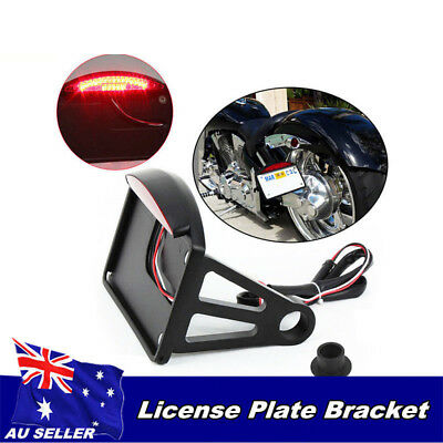 Side Mount License Plate Bracket Tail Light 4 Yamaha Road Star VStar 250 1100