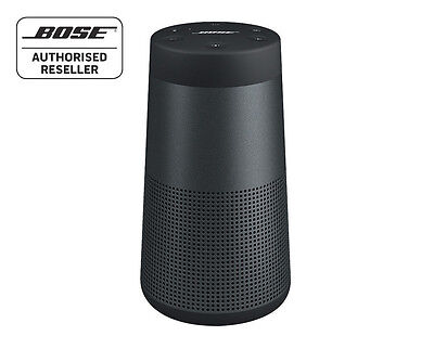 Bose Soundlink Revolve Bluetooth Speaker 360º SOUND & Water Resistant, BLACK