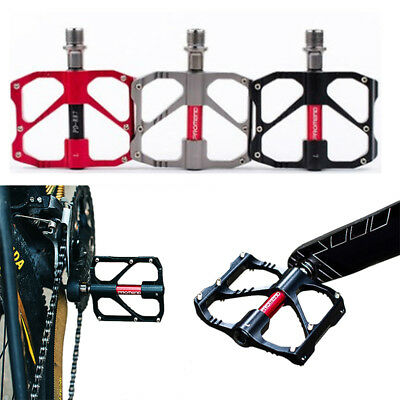 1 Pair of Aluminum Alloy MTB Mountain Road Bicycle Bike Pedals flat Platform